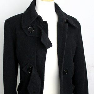 LADIES CASUAL TOMMY HILFIGER FUNNEL COLLAR COAT 6